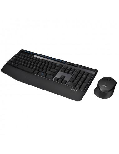 Teclado y mouse Logitech Wireless...
