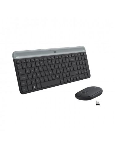 Teclado y Mouse Slim Wireless Combo...